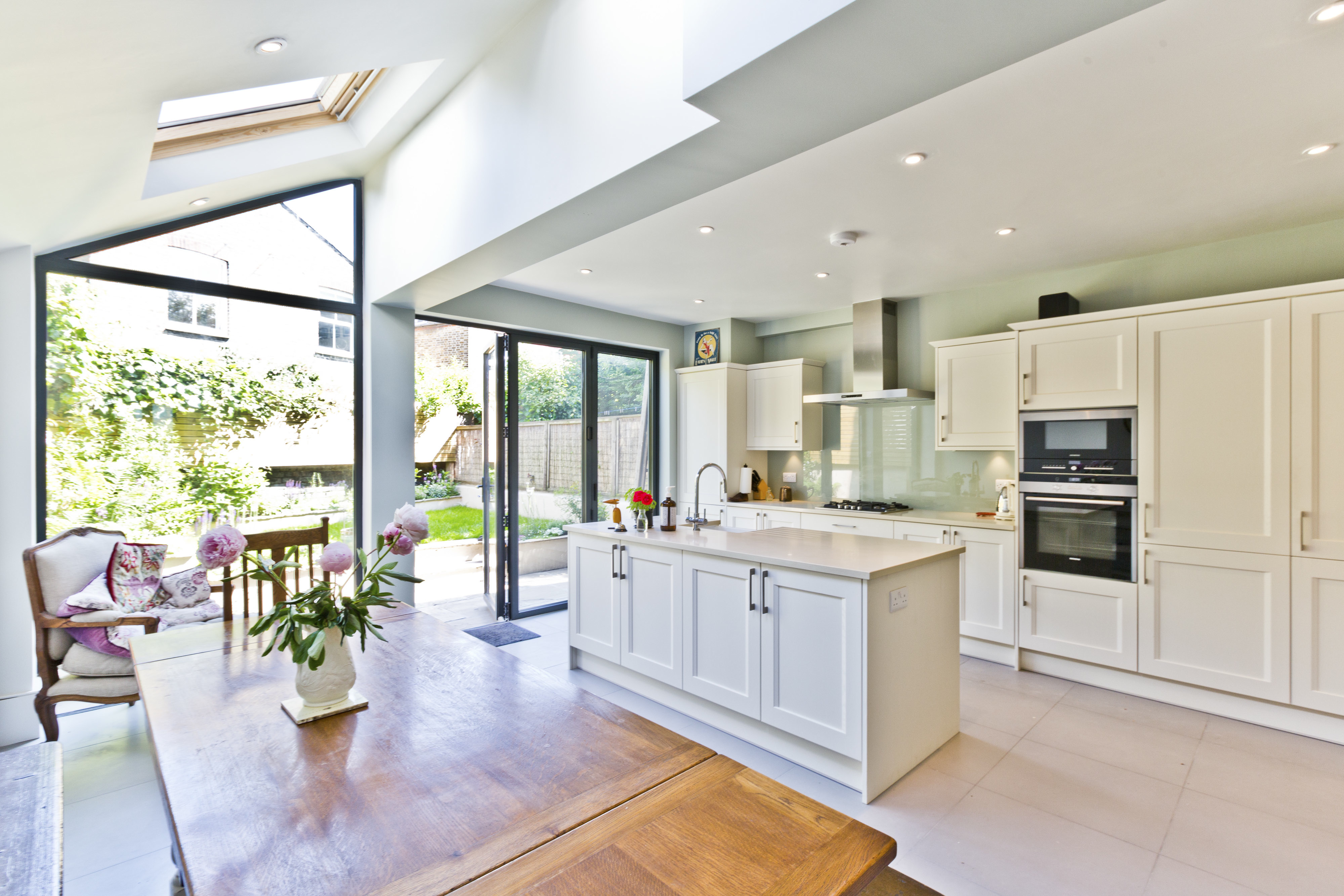 Kitchen Dining Room Knock Through Open Plan Spaces