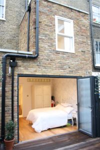london home extension flat