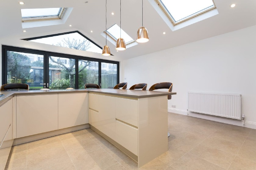 Many glazing solutions are permanent as privacy characteristics are a feature of the glass and the amount of distortion varies with the pattern. & How to maximise natural light within your home extension - Simply ...