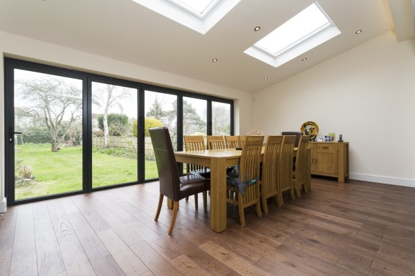 Simply Extend kitchen extension flooring London